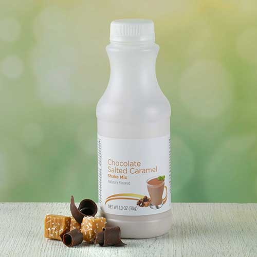 Chocolate Salted Caramel Shake In A Bottle