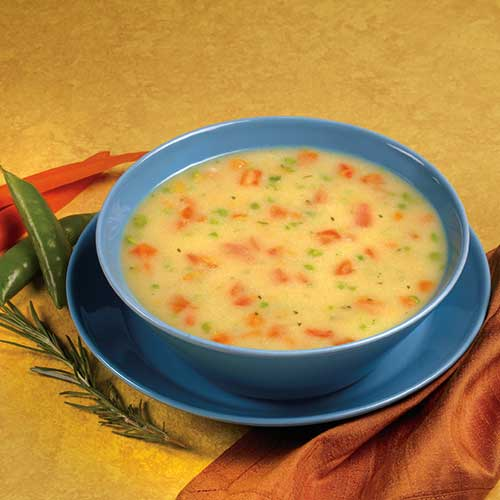 Hearty Cream Of Chicken Soup With Fiber