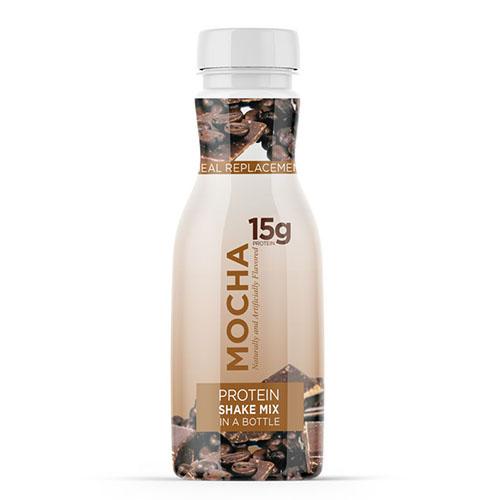 Mocha Shake Mix In A Bottle
