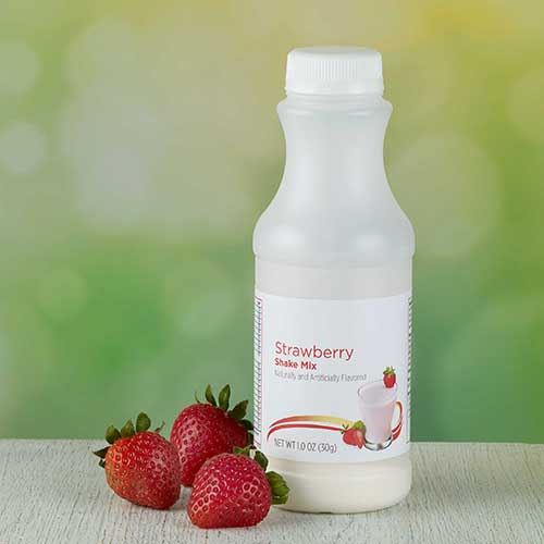 Strawberry Shake in Bottle