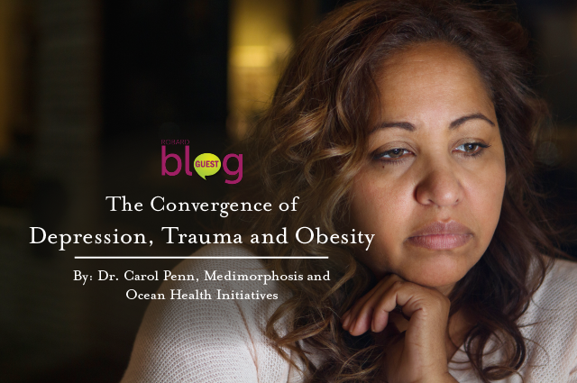 the convergence of depression, trauma, and obesity