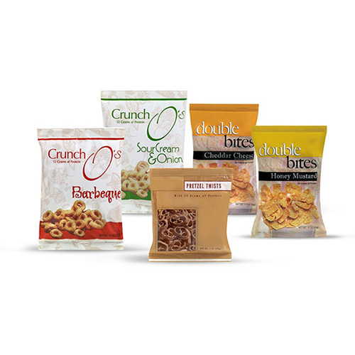 Variety Pack Snacks (Contains One Bag Each Of 5 Flavors.)