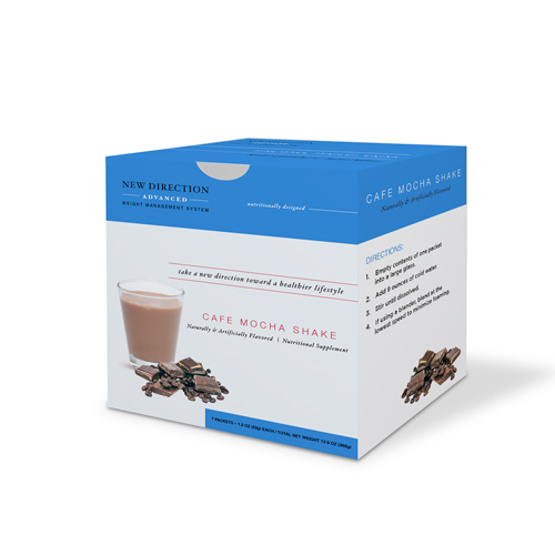 New Direction Advanced Cafe Mocha Shake box by Robard