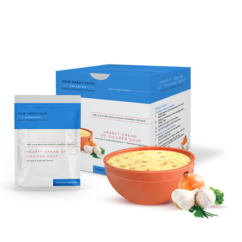 New Direction Advanced Chicken Soup product line by Robard