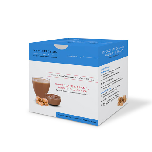 New Direction Advanced Chocolate Caramel Box By Robard