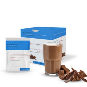 New Direction Advanced Double Chocolate Shake product line by Robard