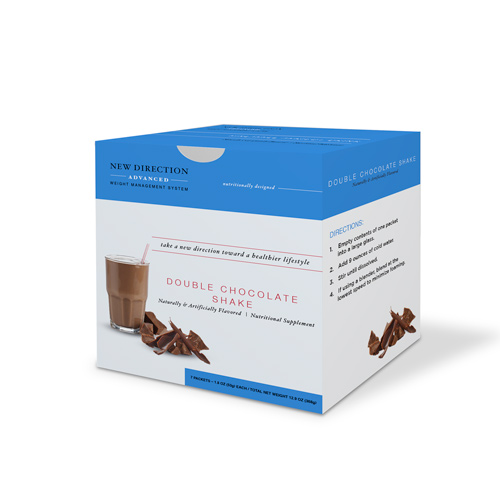 New Direction Advanced Double Chocolate Shake box by Robard