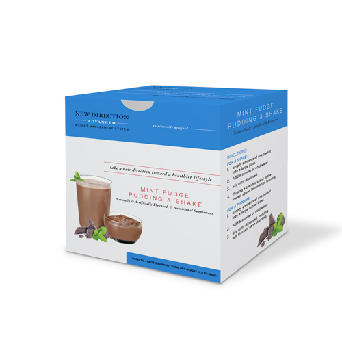 New Direction Advanced Chocolate Mint Fudge Box By Robard