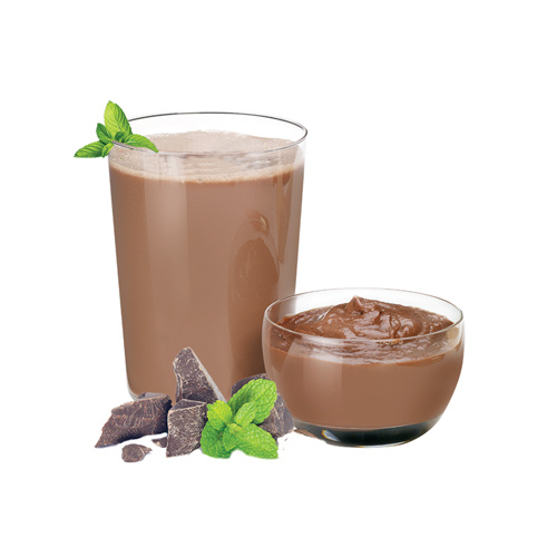 New Direction Advanced Mint Fudge Pudding & Shake