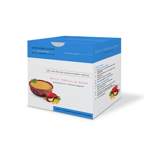 New Direction Advanced Tortilla Soup Box By Robard