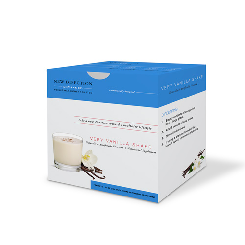 New Direction Advanced Vanilla Shake Box By Robard