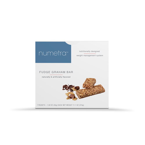 Numetra Fudge Graham Bar Box