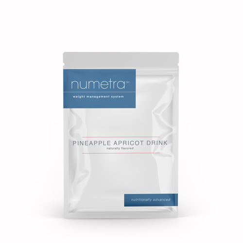 Numetra Pineapple Apricot Drink foil