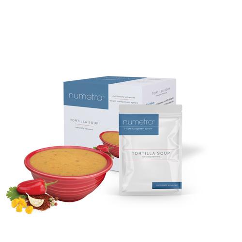 Numetra Tortilla Soup product line