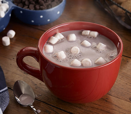 Creamy Hot Chocolate (AF) – With Marshmallows