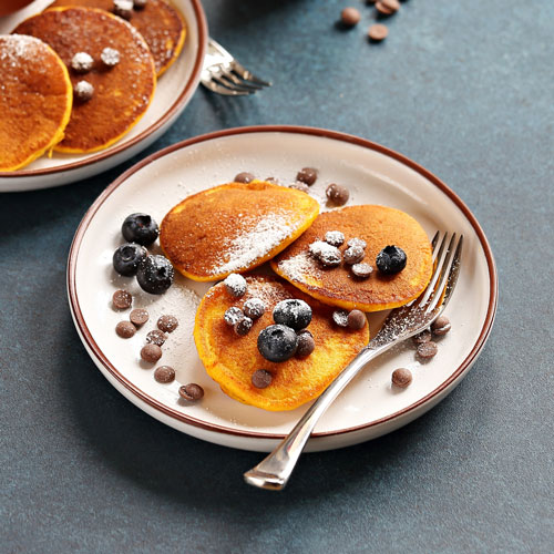 Pancakes – With Chocolate Chips