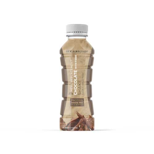 New Direction Chocolate With Fiber Shake In A Bottle