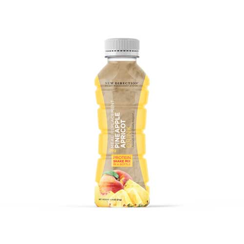New Direction Pineapple Apricot Shake In A Bottle