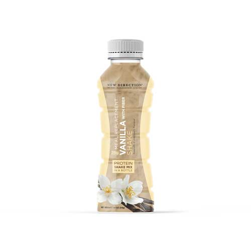 New Direction Vanilla With Fiber Shake In A Bottle