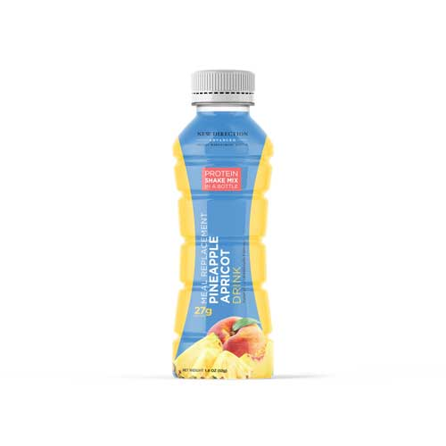 New Direction Advanced Pineapple Apricot Shake In A Bottle