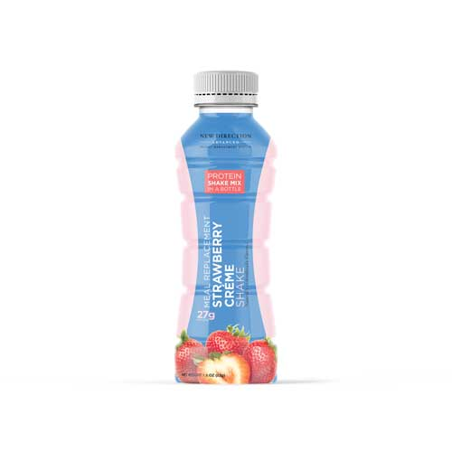New Direction Advanced Strawberry Creme Shake In A Bottle
