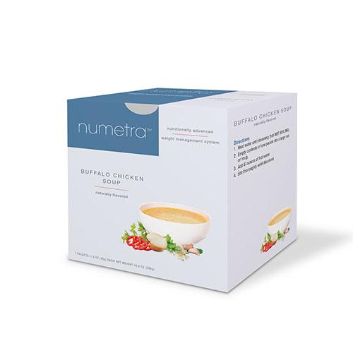 Numetra Buffalo Chicken Soup box