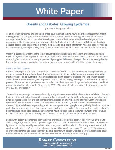 Obesity And Diabetes: Growing Epidemics